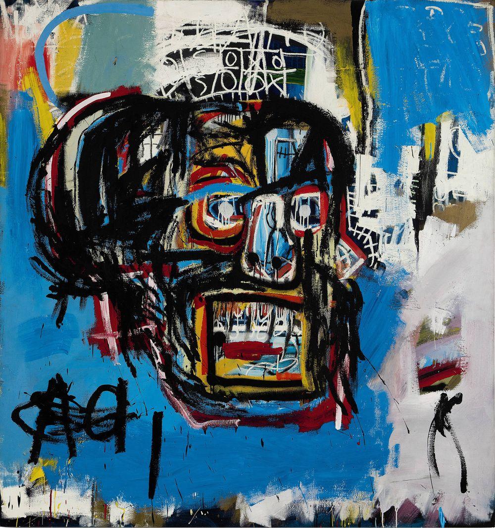 A mindeddig legdrágább Basquiat-kép – forrás: Sotheby's