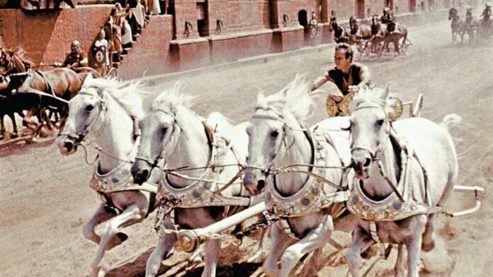 Jelenet a Ben Hur című filmből - forrás: YouTube
