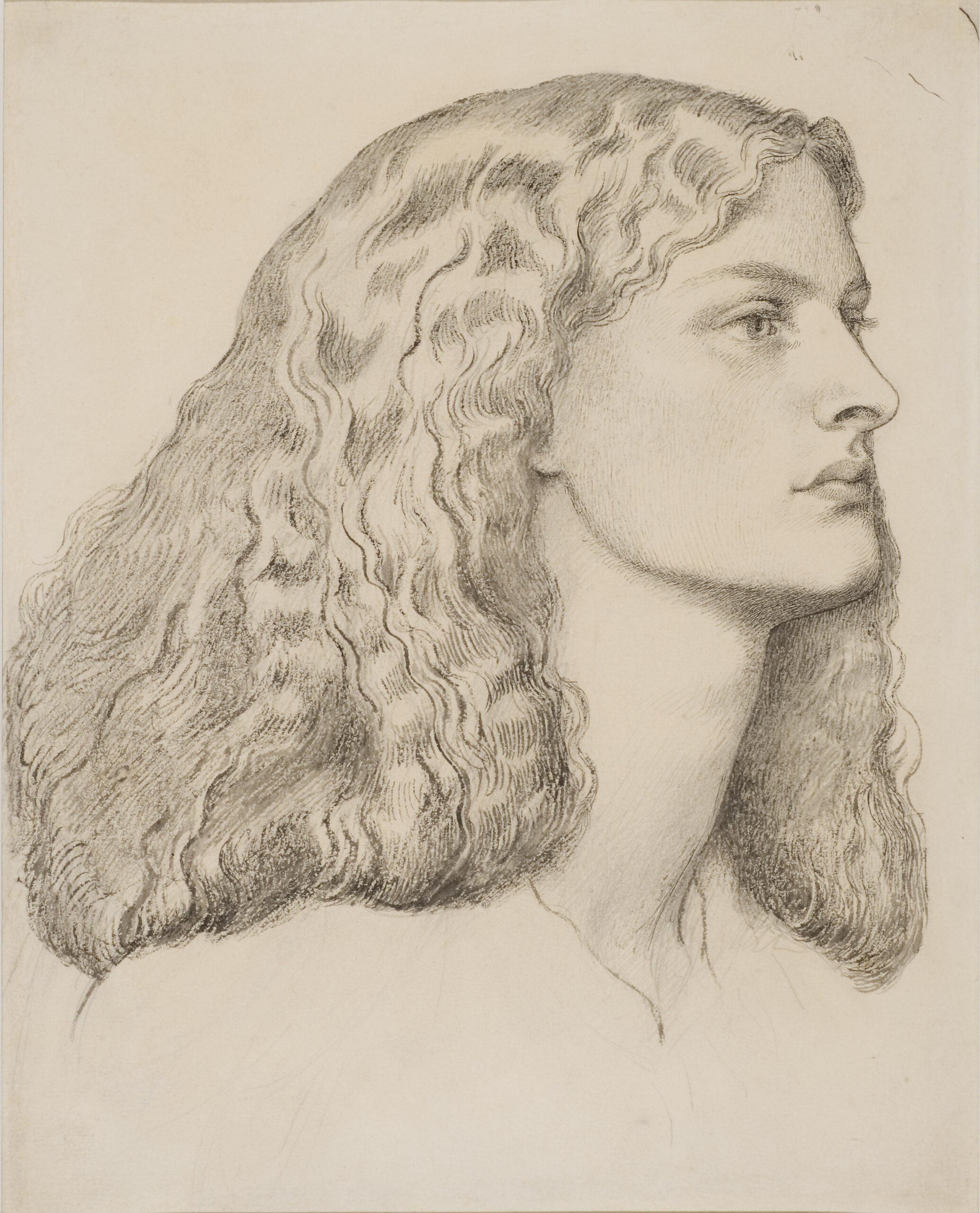 Dante Gabriel Rosetti: Annie Miller portréja
