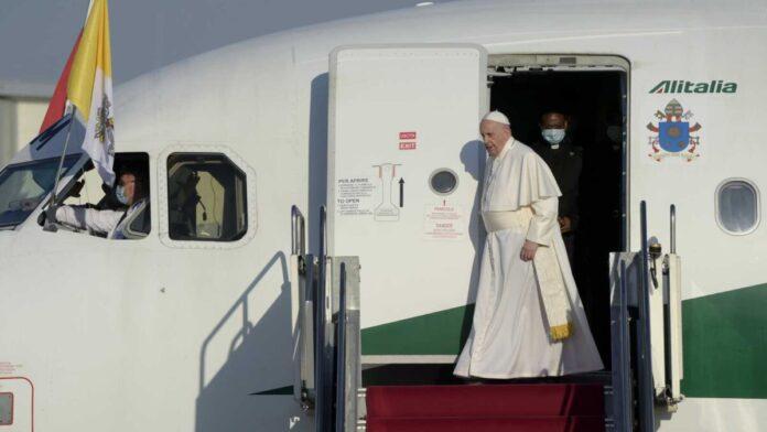 Ferenc pápa Budapesten - forrás: MTI