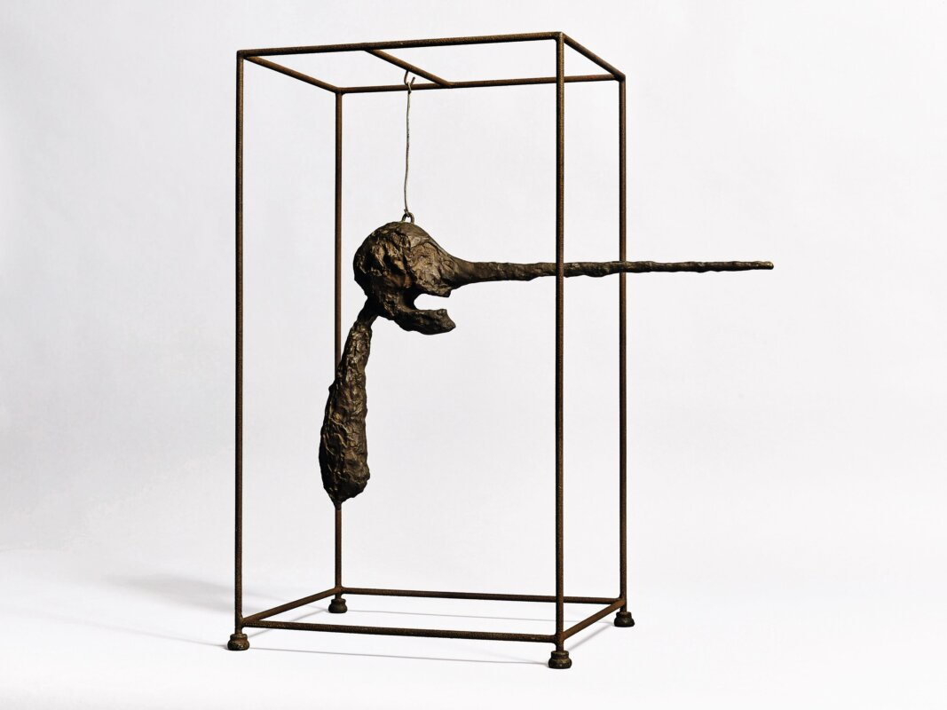 Alberto Giacometti: Az orr – forrás: Sotheby's
