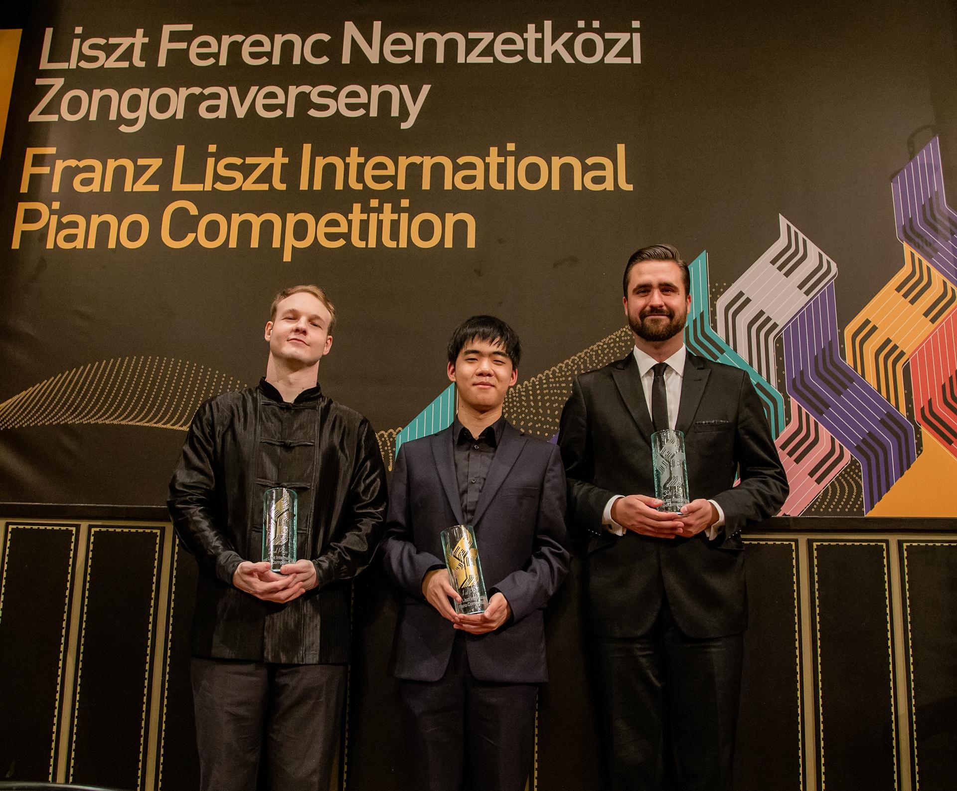 Giovanni Bertolazzi, Kevin Chen és Kovács Gergely – fotó: Felvégi Andrea