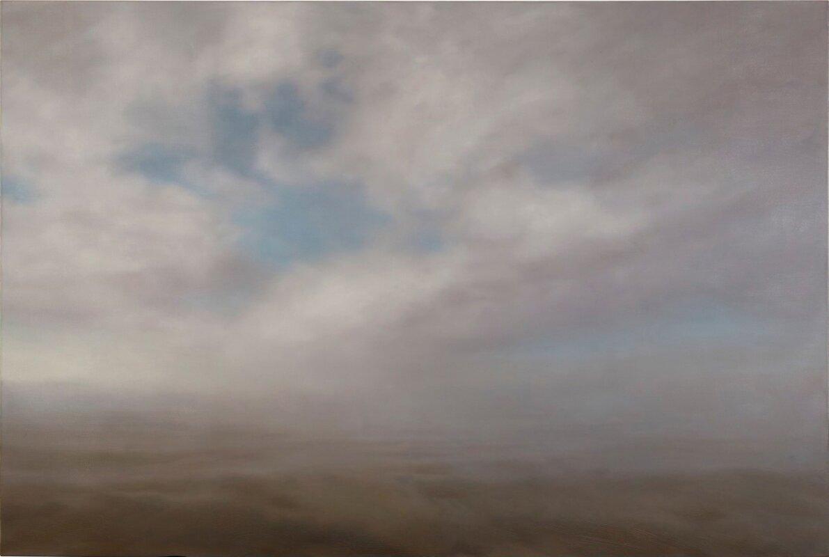 Gerhard Richter: Tengeri táj – forrás: Sotheby's