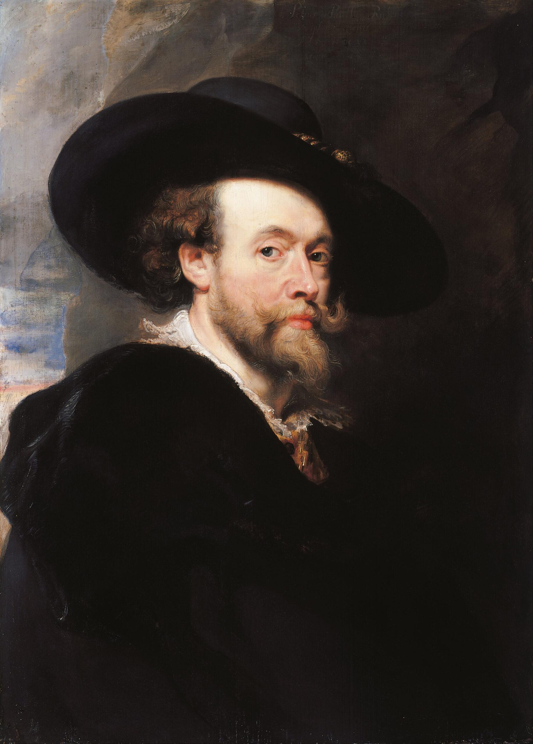 Peter Paul Rubens: Önarckép (1623) - forrás: wikipedia