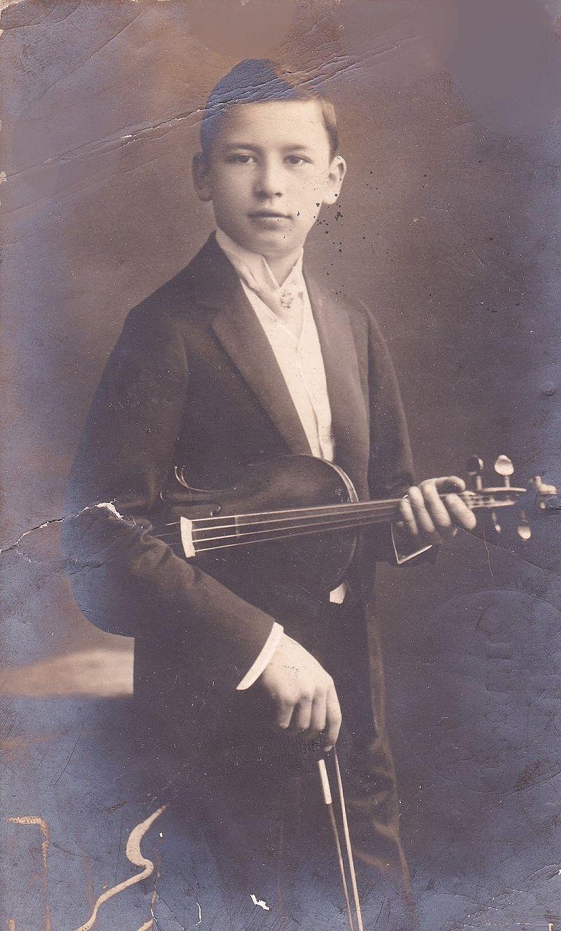 Vecsey Ferenc 1905 körül. Uher Ödön felvétele - Forrás: wikipedia