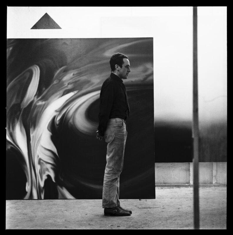 Lothar Wolleh: Gerhard Richter portréfotója (a Lothar Wolleh Archívum jóvoltából)