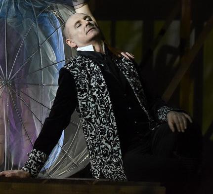 G.F. Händel: Acisz és Galathea - Damon szerepében A Debreceni Csokonai Színházban. Rendező: Gemza Péter - Fotó: Máthé András