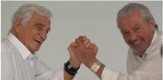 Alain Delon és Jean Paul Belmondo - forrás: YouTube