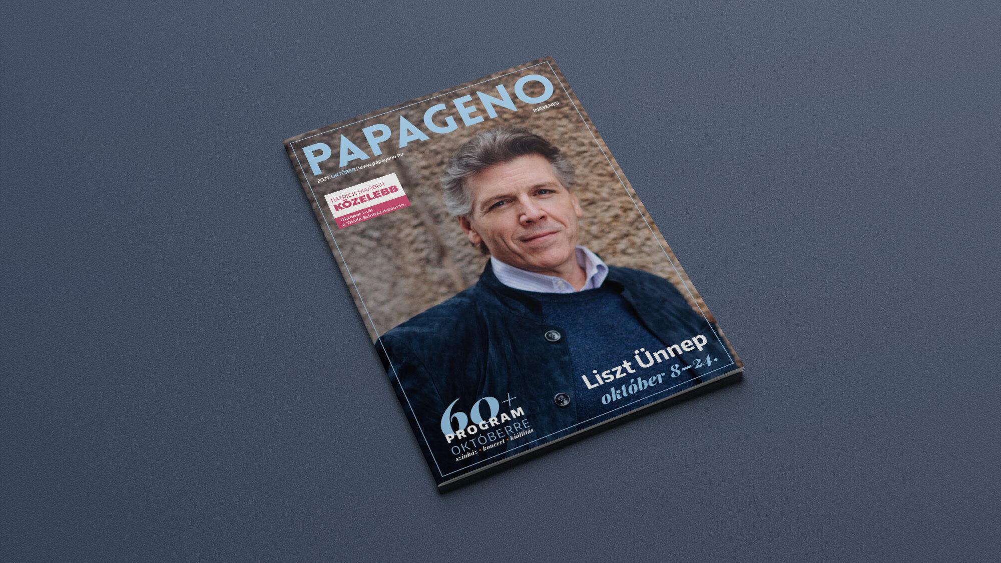 Megjelent a Papageno magazin októberi száma