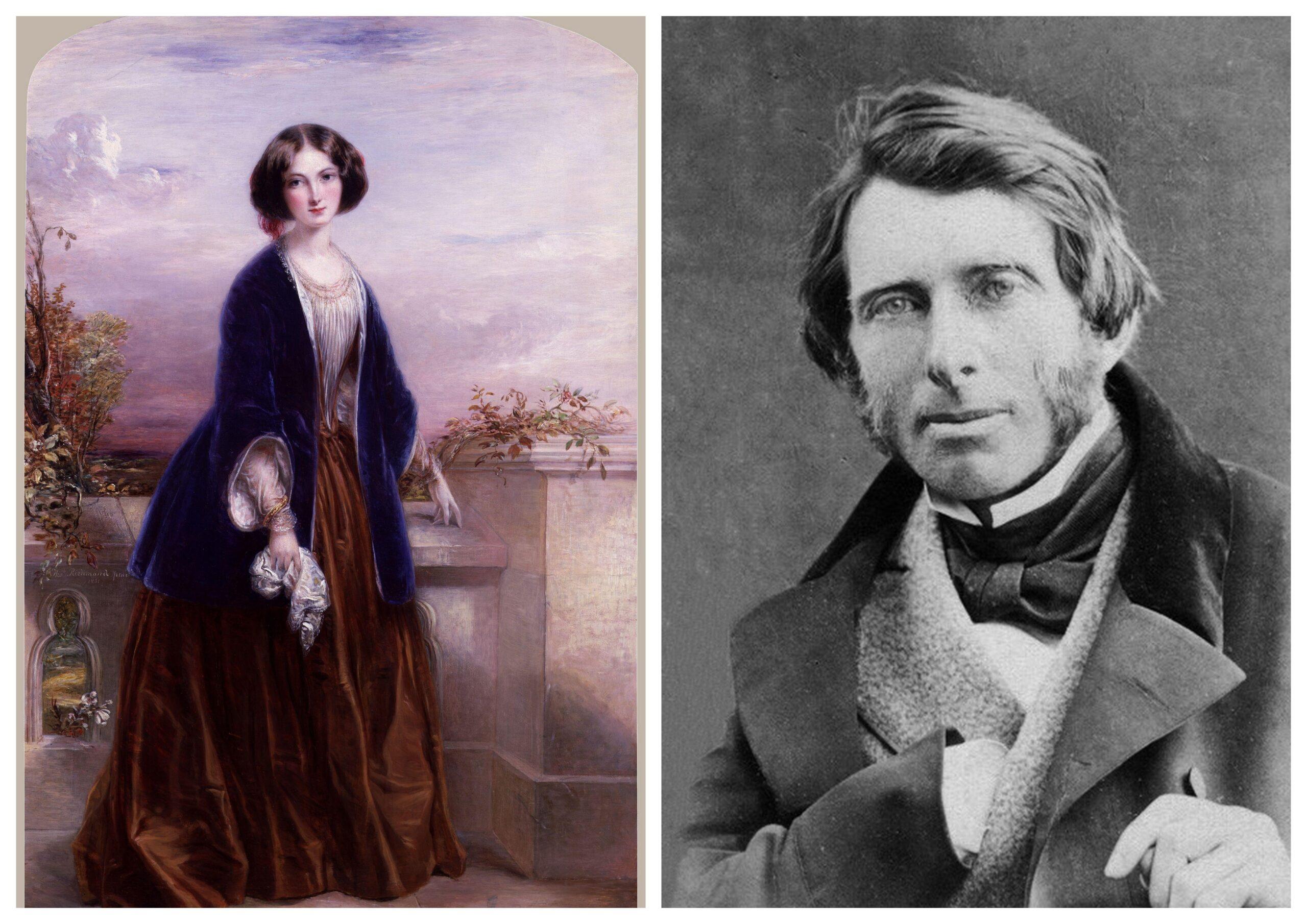 Effie Gray és John Ruskin 1863-ban
