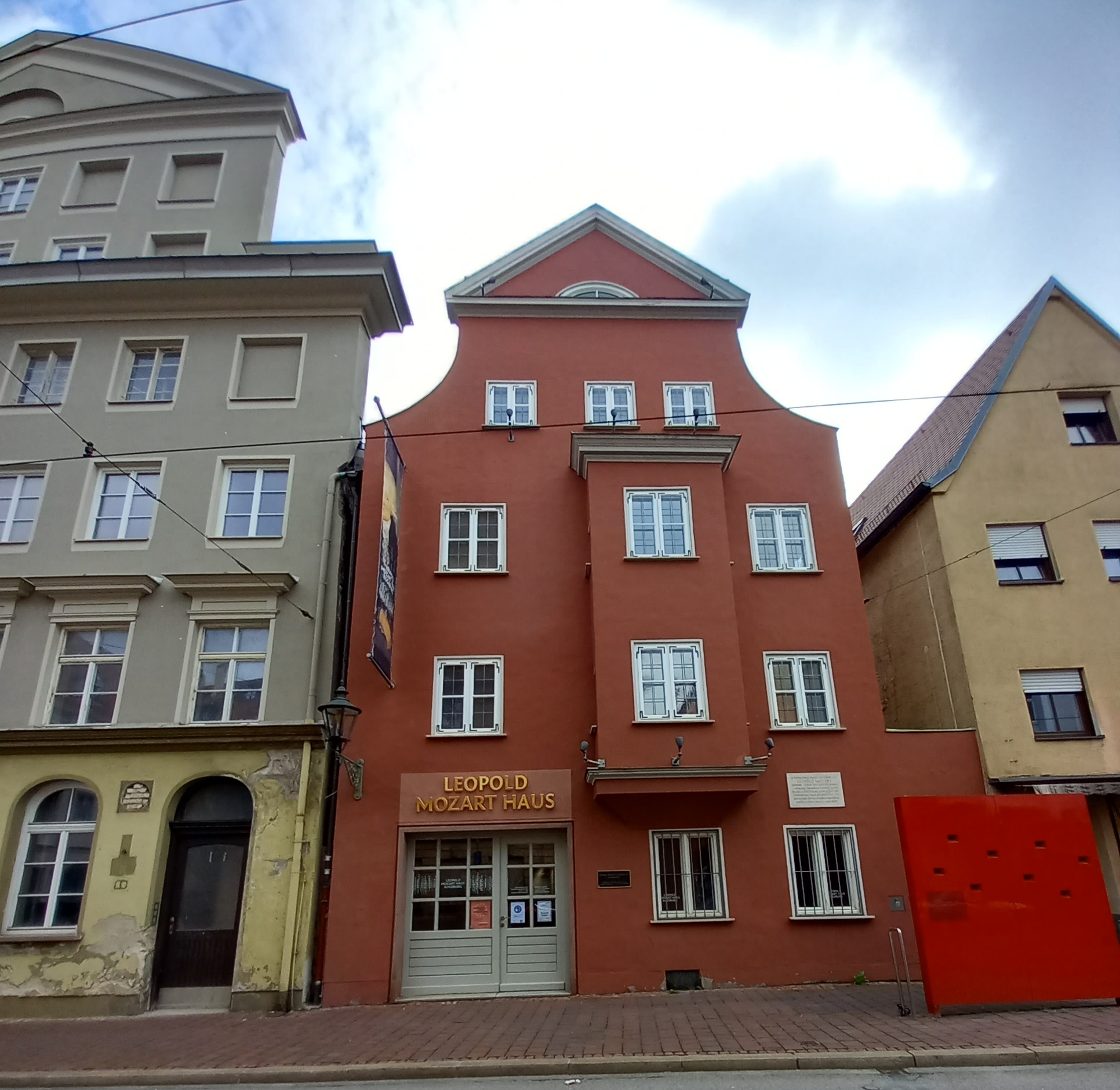Leopold Mozart szülőháza Augsburgban, ma múzeum
