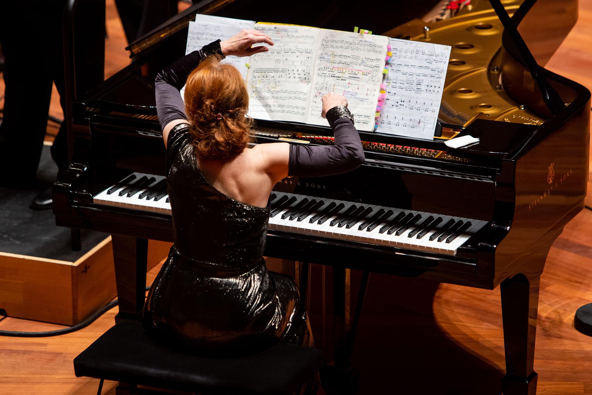 Muza Rubackyte és a Concerto Budapest - fotó: Hirling Bálint