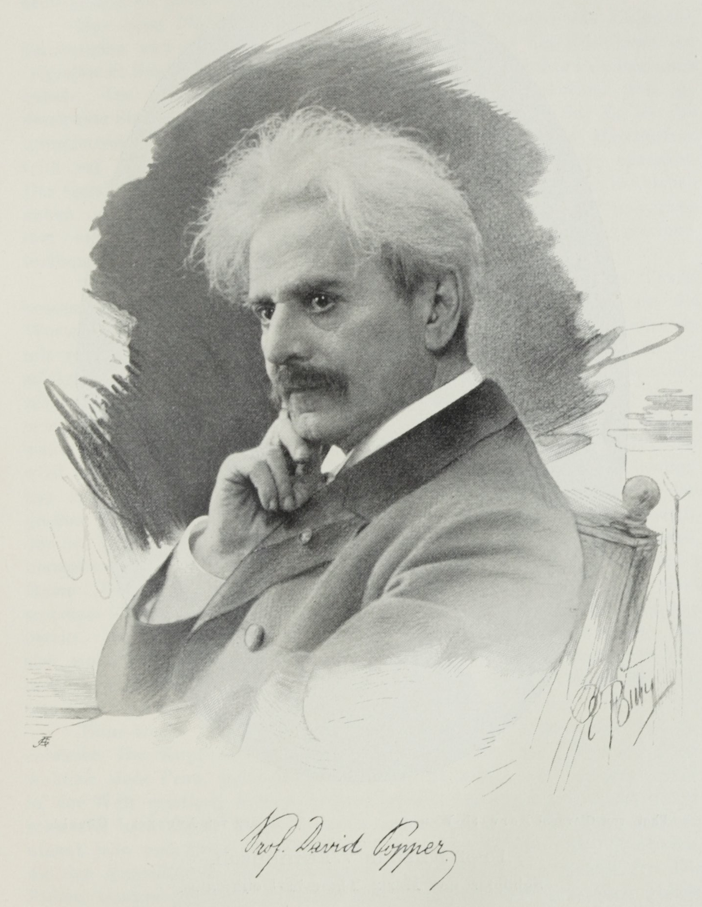 David Popper (1843–1913) 1904 - fotó: E. Bieber / - közkincs