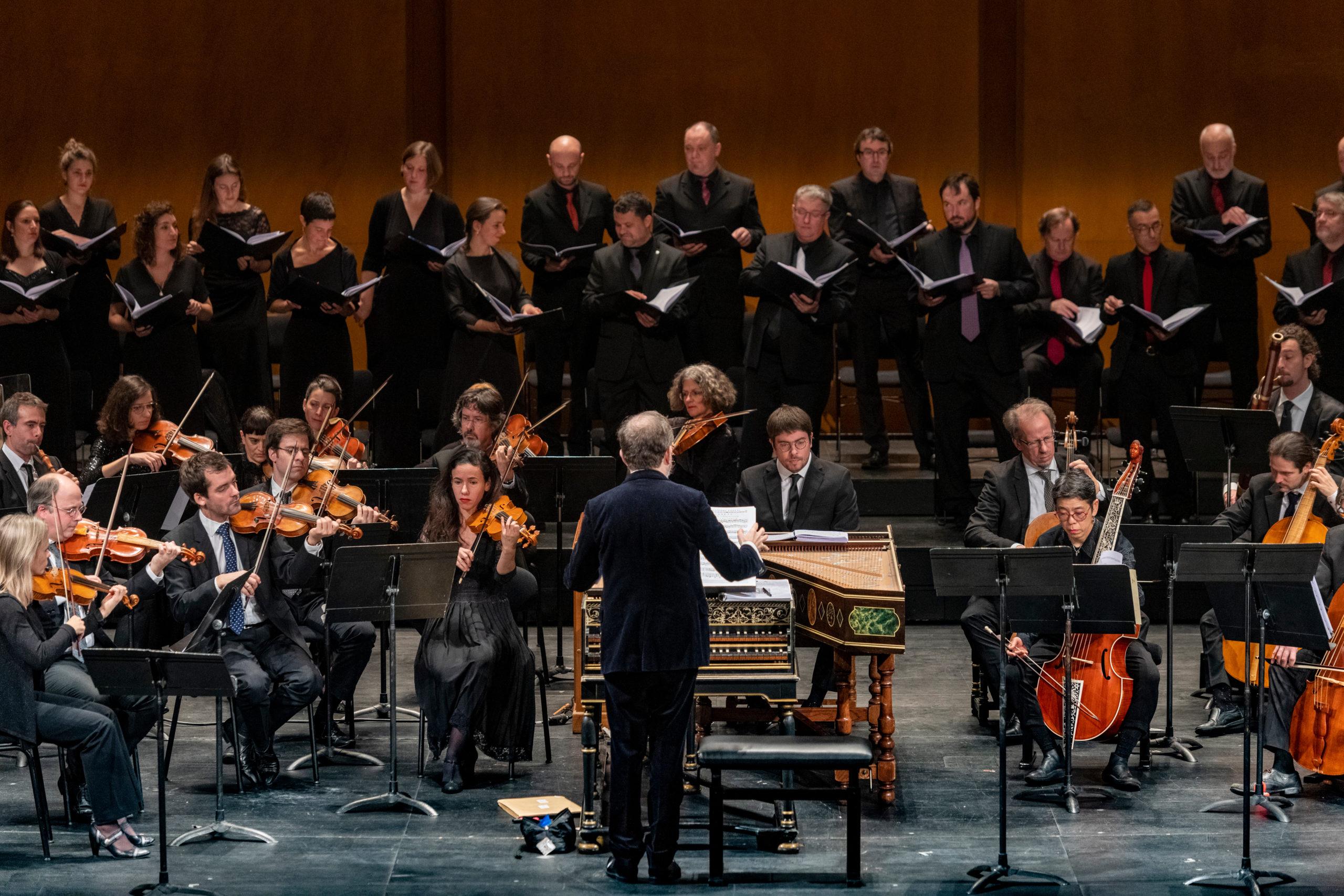 Christophe Rousset és Les Talens Lyriques - forrás: Haydneum Nyitófesztivál