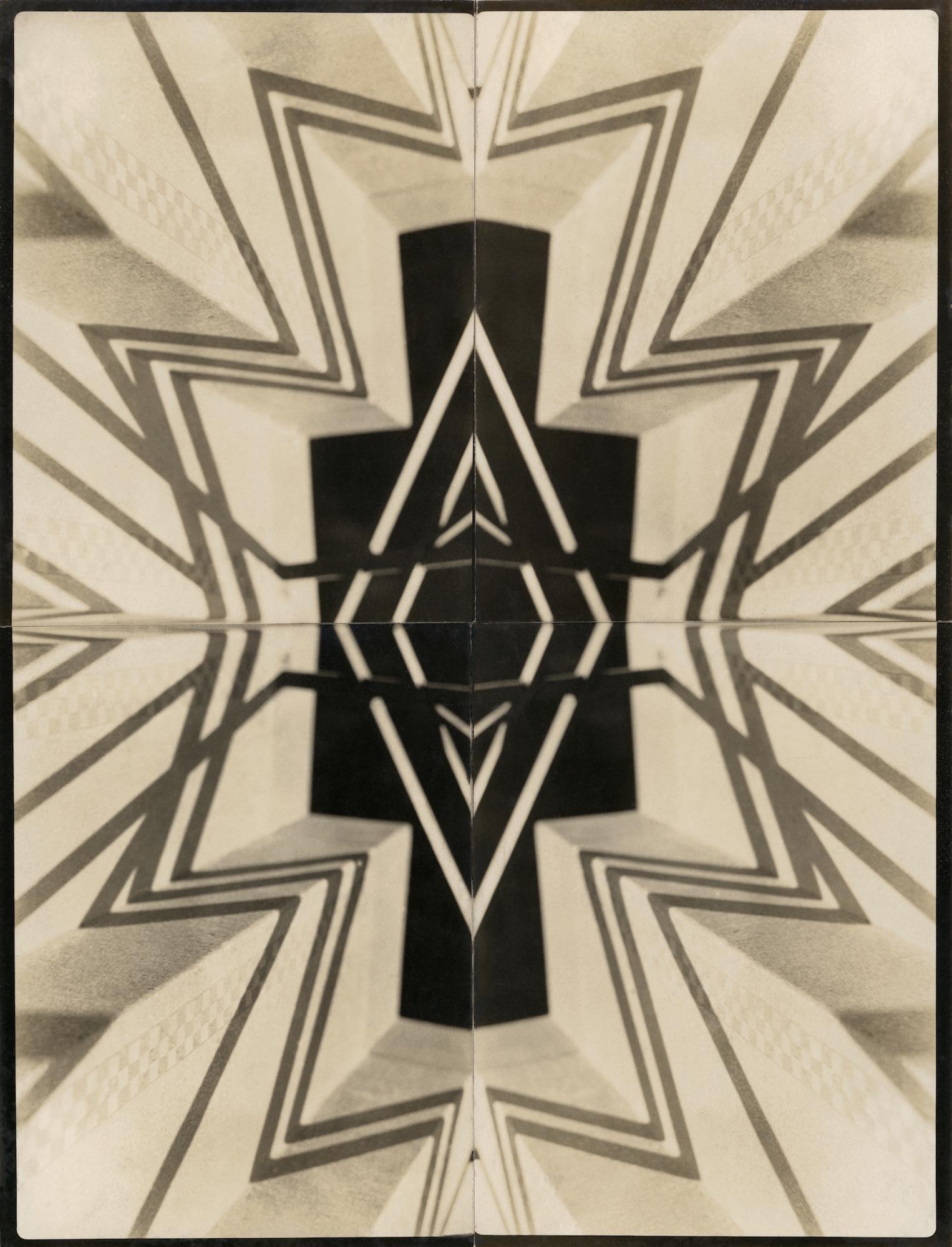 Margaret Watkins: Terv a Blythswood szőnyeghez - 1937 - fotó: Margaret Watkins / Joseph Mulholland Collection, Glasgow