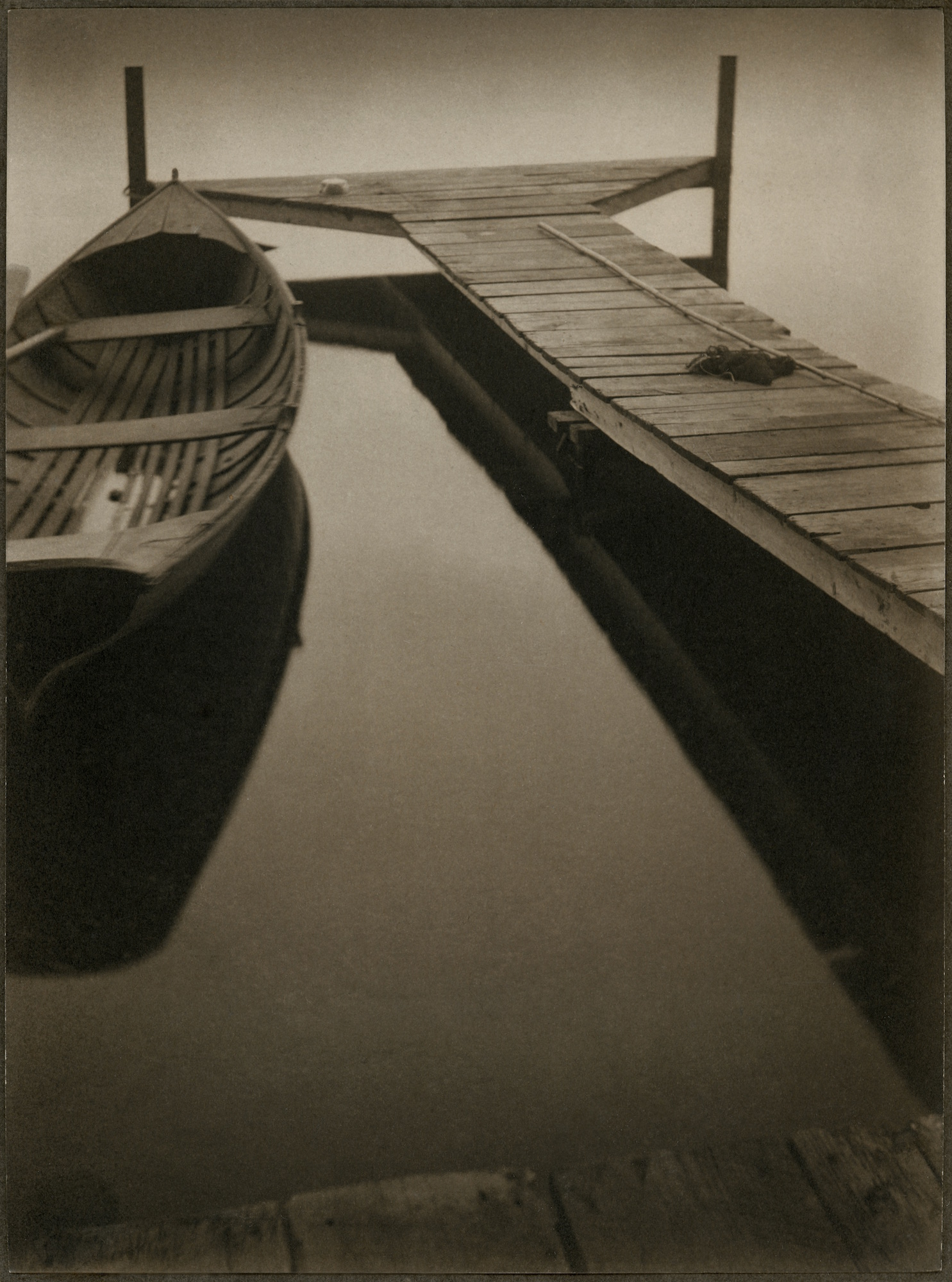 Margaret Watkins: A stég - 1922 - fotó: Margaret Watkins / Joseph Mulholland Collection, Glasgow