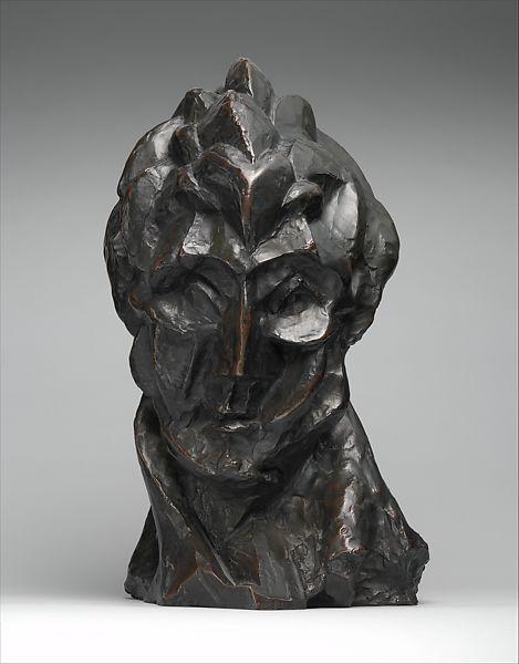 Pablo Picasso: Női fej – forrás: Metropolitan Museum