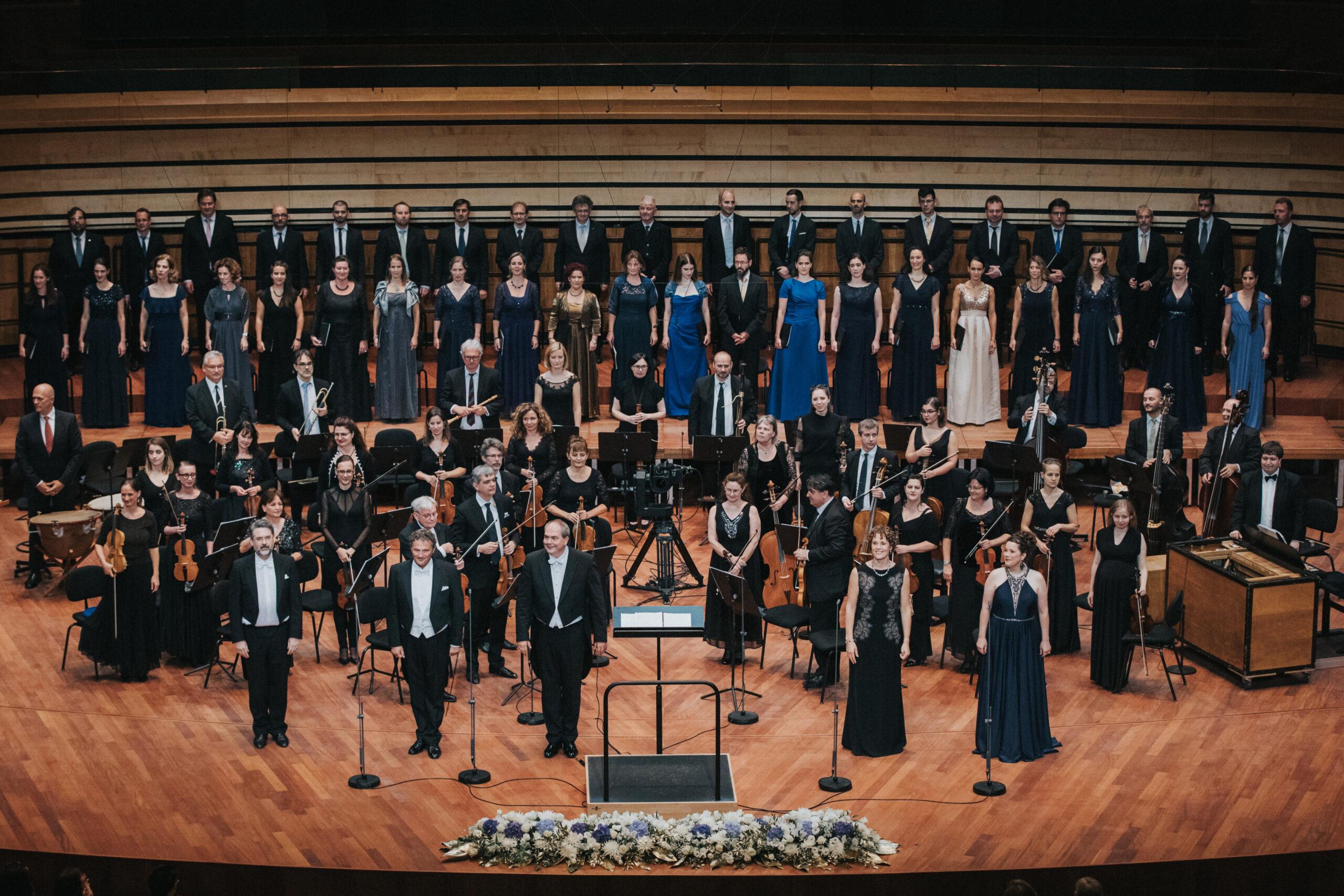 A Purcell Kórus és Orfeo Zenekar koncertje - Haydneum Nyitófesztivál - forrás: Haydneum