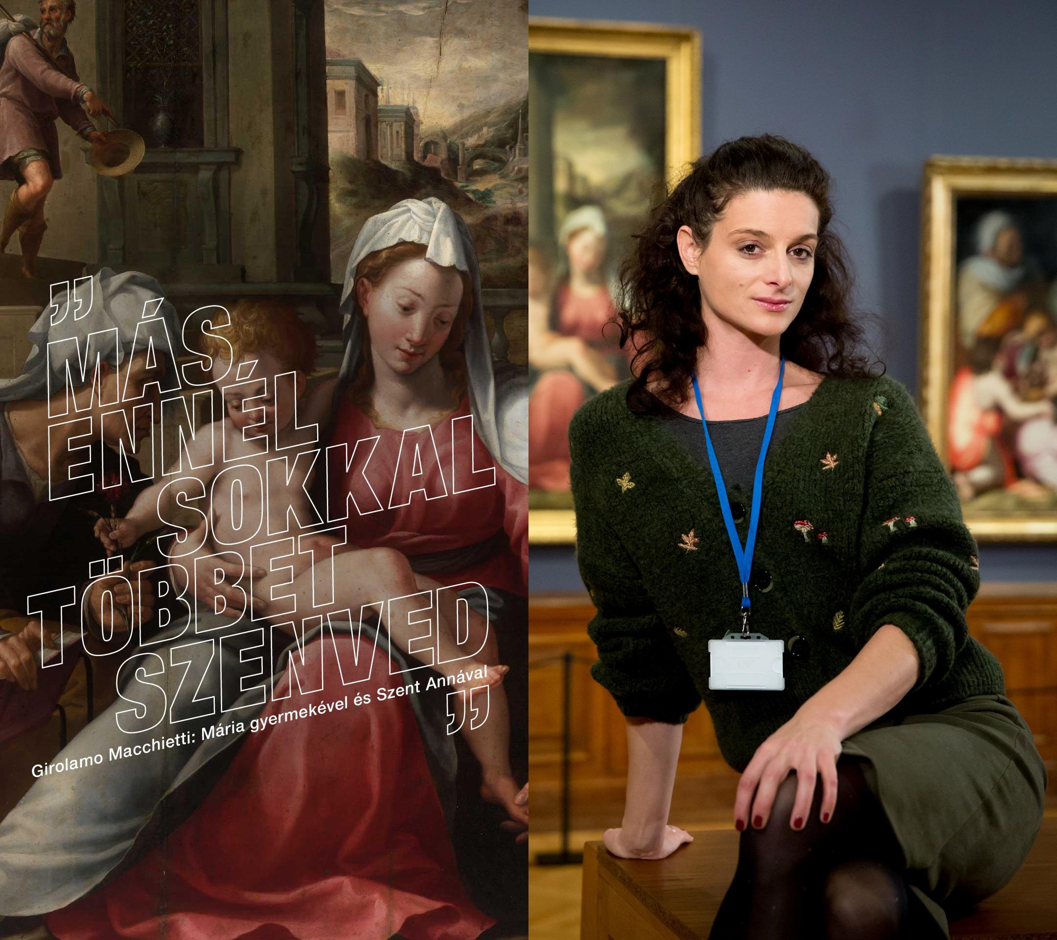 Szécsi Noémi: A vég és a kezdet Műalkotás: Girolamo Macchietti: Mária gyermekével és Szent Annával Előadja: Jordán Adél